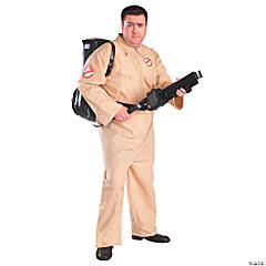 Ghostbuster Plus Size Adult Men's Costume