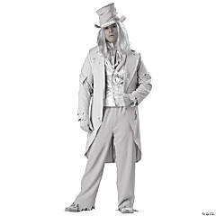 Ghostly Gent Plus Size Adult Men's Costume