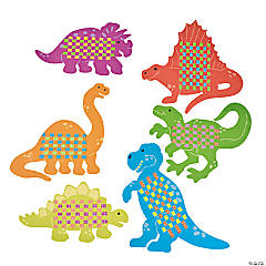 Giant Dinosaur Weaving Mat Craft Kit