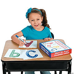 Giant Dry Erase Traceable Letters