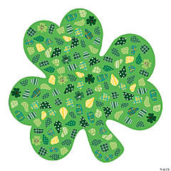 Giant Shamrock Sticker Scenes