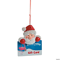 Gift Card Holder Santa Claus Ornament