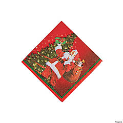 Gifts from Santa Beverage Napkins