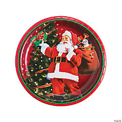 Gifts from Santa Dinner Plates