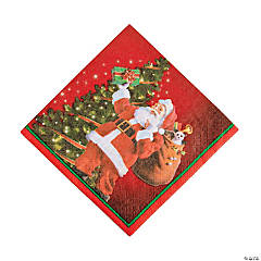 Gifts from Santa Luncheon Napkins