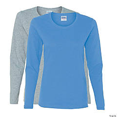 Gildan® Ladies 100% Cotton Long Sleeve T-shirt