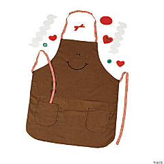 Gingerbread Adult's Apron Craft Kit
