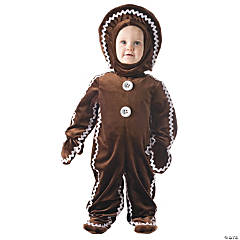 Gingerbread Costume for Toddlers