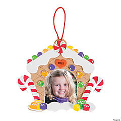 2015 Gingerbread House Picture Frame Ornament Craft Kit