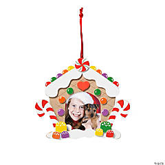 Gingerbread House Picture Frame Ornament Craft Kit