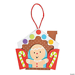 Gingerbread in a Window Ornament Craft Kit