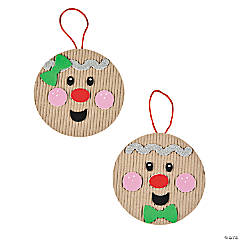 Gingerbread Kids Ornament Craft Kit