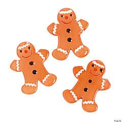 Gingerbread Lampwork Beads