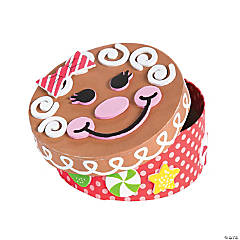 Gingerbread Memory Box Craft Kit