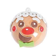 Gingerbread Ornament Decorating Craft Kit