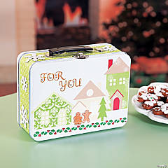 Gingerbread Village Lunch Box Idea