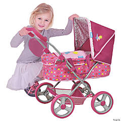 Gini Pram Doll Stroller