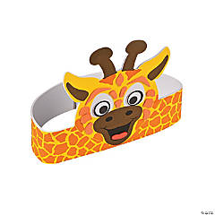 Giraffe Headband Craft Kit