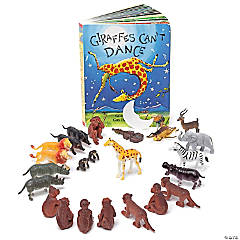 Giraffes Can't Dance 3-D Storybook