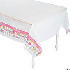 Girl Button Tablecloth