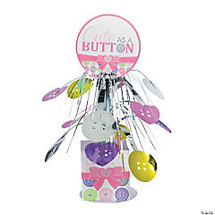 Girl Cute as a Button Cascading Centerpiece