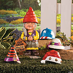 Girl Gnome Greeter with Hats