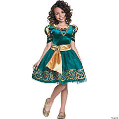 Girl's Classic Merida Halloween Costume
