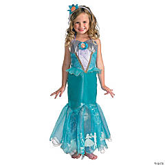 Girl's Deluxe Disney's The Little Mermaid™ Ariel Prestige Costume