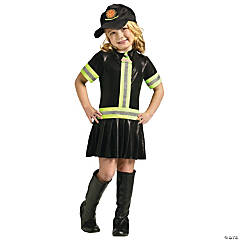 Girl's Firefighter Costume