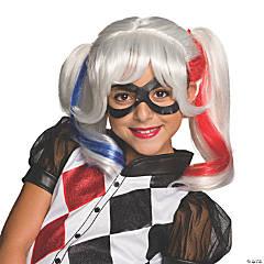 Girl's Harley Quinn™ Wig