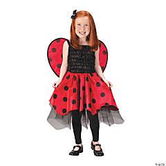 Girl's Ladybug Costume