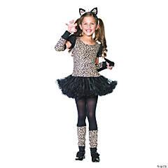 Girl's Little Leopard Costume