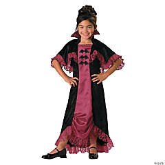 Girl's Midnight Vampiress Costume