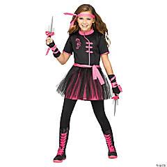 Girl's Ninja Miss Costume