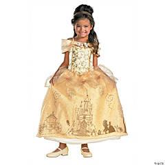 Girl's Prestige Disney's Beauty & the Beast™ Belle Costume