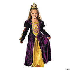 Girl's Regal Queen Costume