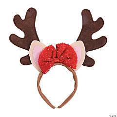 Girl's Reindeer Ears Headband