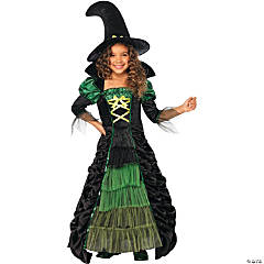 Girl's Storybook Witch Costume
