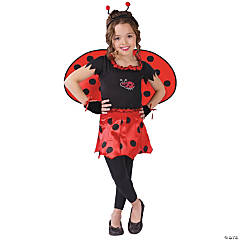 Girl's Sweetheart Lady Bug Costume