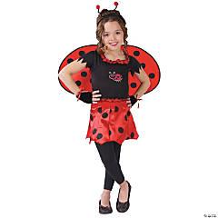 Girl's Sweetheart Lady Bug Costume