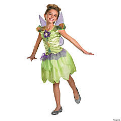 Girl's Tinker Bell Rainbow Fairy Costume