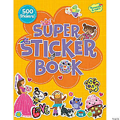 Girl Super Sticker Activity Book