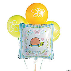 Girl Turtle Balloon Set