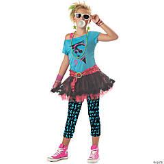 Girl's 80s Valley Girl Costume