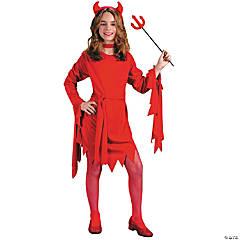 Girl's Darling Devil Costume