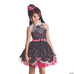 Girl's Deluxe 1600 Draculaura Costume