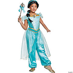 Girl's Deluxe Aladdin™ Jasmine Costume