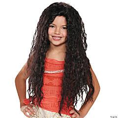Girl's Deluxe Moana Wig
