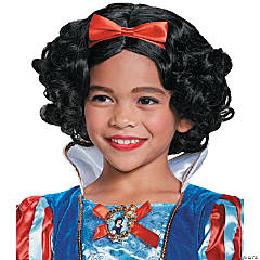 Girl's Deluxe Snow White Wig