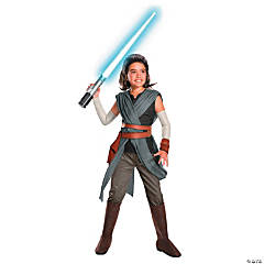 Girl's Delxue Star Wars™ Episode VIII: The Last Jedi Rey Costume - Small